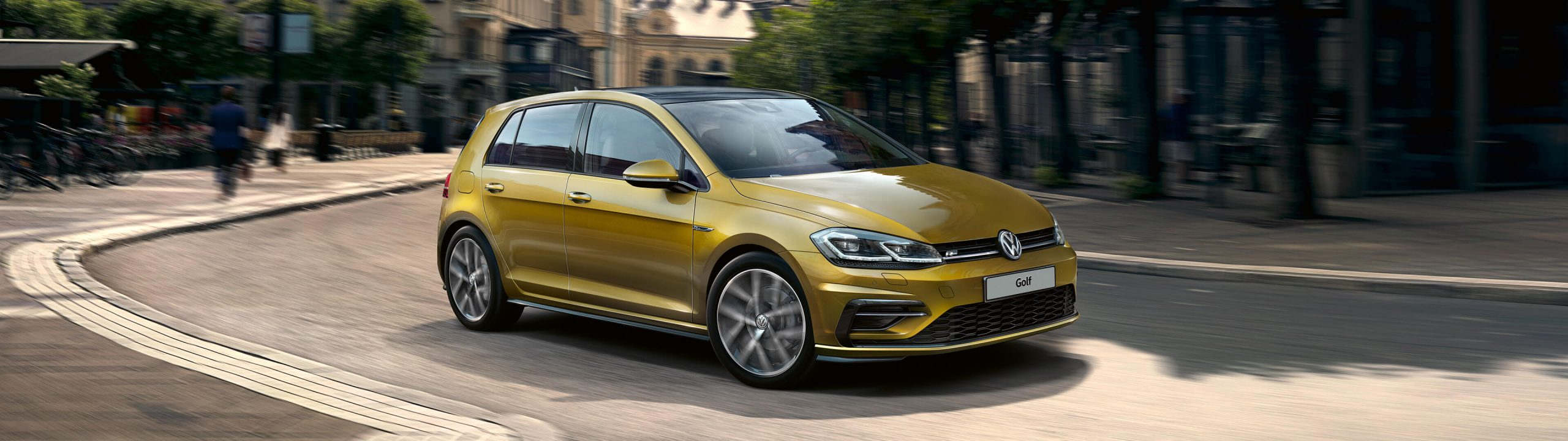 Новый Volkswagen Golf 2020-2021